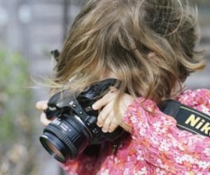 nikon, camera, and baby image