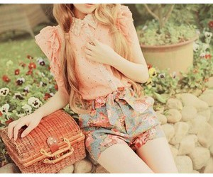 beauty, girly, and outfit image