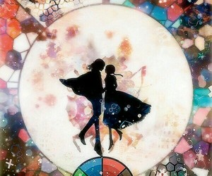 anime couple and anime image