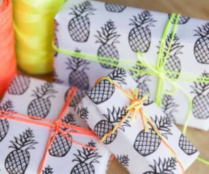 birthday, pineapple, and presents image