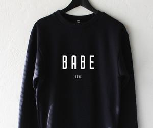 fashion, babe, and black image