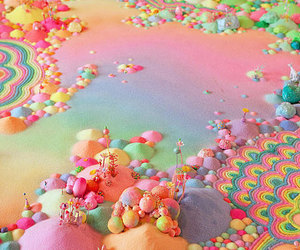candy and art image