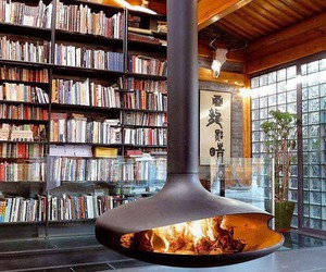 bookshelf, inspiring interiors, and furniture image