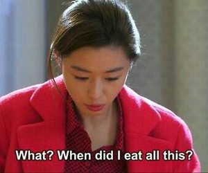 kdrama, eat, and funny image