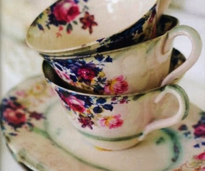 tea, cup, and teacup image