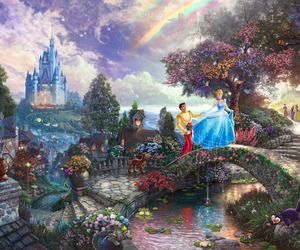 beautiful, fairy tale, and painting image