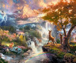 bambi, beautiful, and fairy tale image
