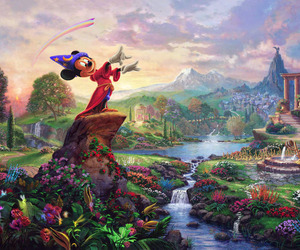 beautiful, fairy tale, and mickey mouse image