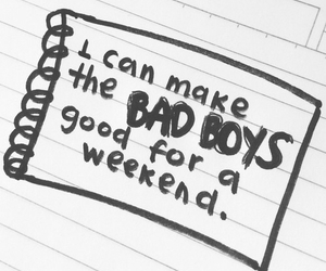 boy, quote, and badboys image