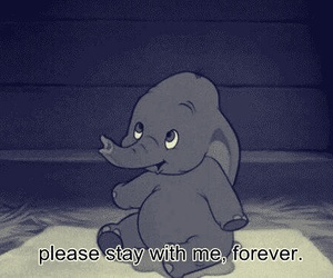 cartoon, dumbo, and forever image