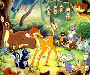 bambi, disney, and animal image