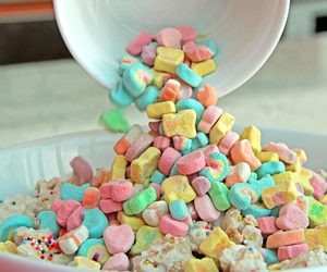 cereal, food, and lucky charms image