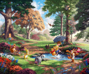 beautiful, fairy tale, and winnie the pooh image