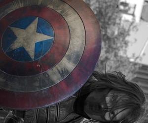 captain america, Marvel, and sebastian stan image