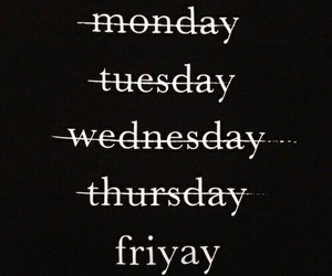 weekend and friday image