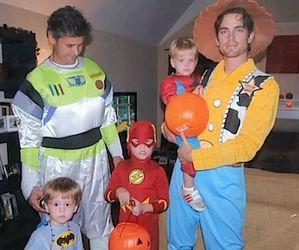 Halloween and matt bomer image