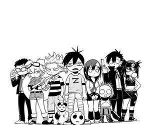 blood lad and wolf image