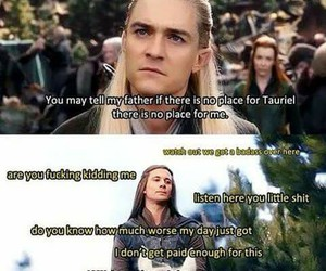 jrr tolkien, Legolas, and orlando bloom image