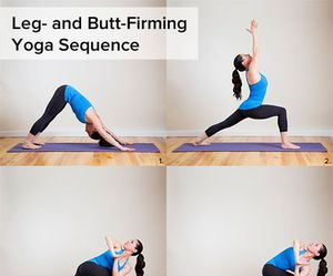 legs and yoga image