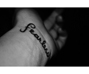 fearless and tattoo image