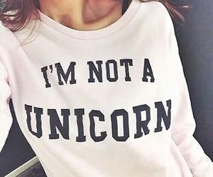 unicorn, fashion, and style image