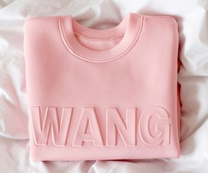 pink, fashion, and wang image