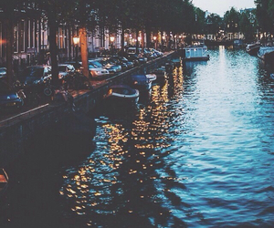 amsterdam, light, and travel image
