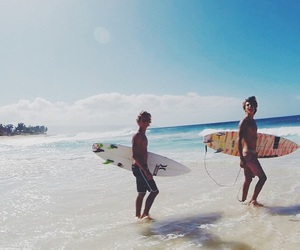 summer, beach, and boy image