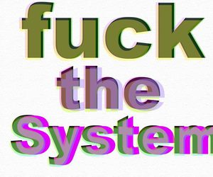 system of a down, skrillex, and fuck the system image