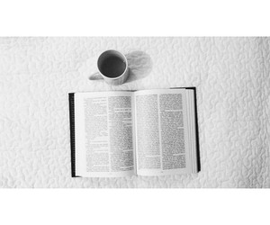 black and white, book, and chill image