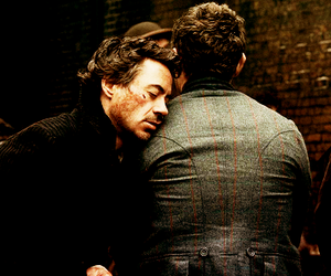 aw, jude law, and robert downey jr. image