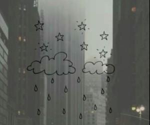 cloud, stars, and lockscreen image
