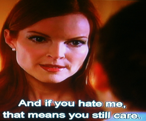 care, Desperate Housewives, and hate image