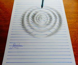 3d, beautiful, and drawing image