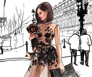 fashion, art, and vintage image