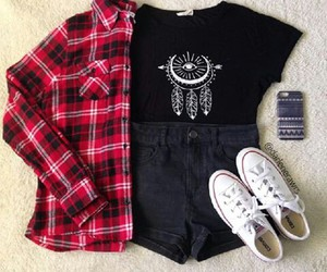 boots, converse, and fashion image