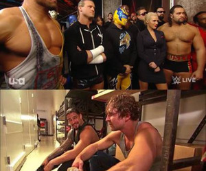 wwe, randy orton, and the shield image