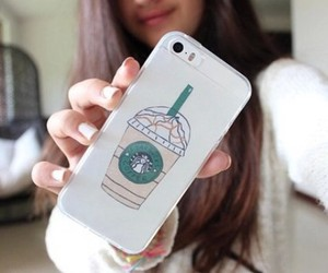 starbucks, case, and cool image