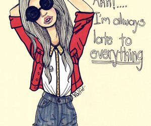 girl, quote, and fashion image