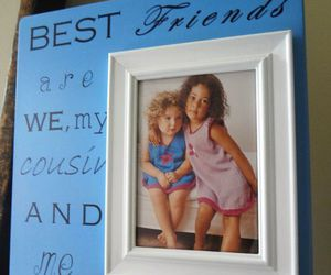 best friends, cousins, and gift image