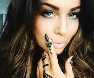 nails, girl, and beautiful image