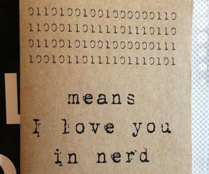 nerd and love image