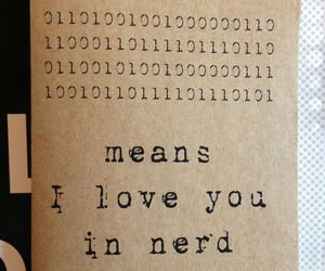 nerd and love image