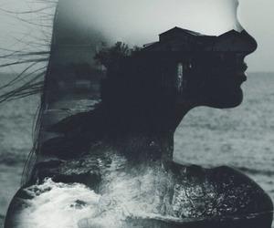sea, ocean, and art image