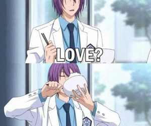 anime, food, and love image