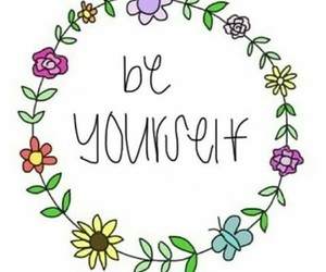 be yourself and we heart it image