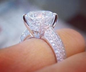 ring, nice, and wedding image