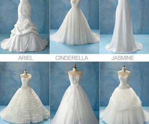 dress, princess, and disney image
