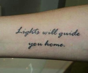fix you, coldplay, and lights image