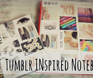 diy, tumblr, and notebook image